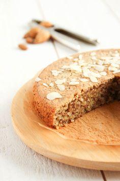 Délicieux gâteau à l'amande sans gluten et sans lait.