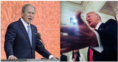 George W. Bush critica a Trump tras ataques a la prensa