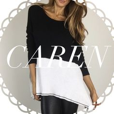 • Reserved • for Caren • B & W Colorblock Top (L) • Nude Trouser Leggings (L) Other
