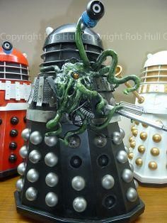 "12"" Exposed Damaged Dalek made by Professional Model Maker Simon John Osbourn | Flickr: partage de photos!"