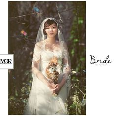 MOR Bride / 莫。新娘 -- 于庭 穿上了禮服,妝點了幸福 一個溫柔而美麗誠實的靈魂。 Be the most beautiful Bride. www.morwed.com