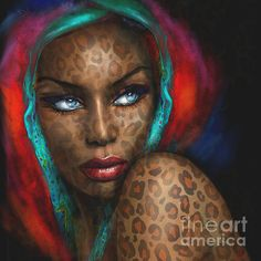 ART Shops:  https://1-angie-braun.pixels.com/ ✿ http://www.redbubble.com/people/angiebraun ✿ http://theo-danella.pixels.com ✿ http://www.redbubble.com/people/theodanella    ✿ #woman #painting #black #beauty #blueeyes #oilpainting #artsy #art #beautiful #blackbeauty #africa #redlips #sensual #sexy #amazing #girl #fineart #deco #smile #wonderful #mocca #blackpainting #blond #marilynmonroe