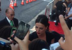 The Queen has arrived!... Lana Parrilla arriving at the El Capitan Theatre for the Season 4 Premiere Of 'Once Upon A Time' - September 21, 2014