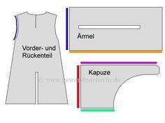 Basic Gardecorps Pattern http://www.gewandnaeherin.de/gewandnaeherinneu/pattern/gardecorps.html