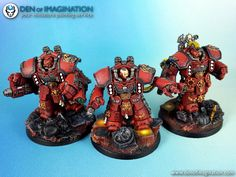 Exorcists Centurion Devastators w/ Missile-Launchers; grav-beamers & grav-amps.