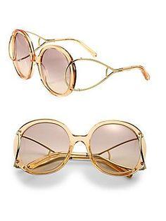 896e5f535a3 Chloé - Jackson 56MM Round Sunglasses