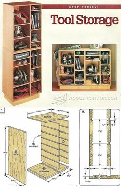 Rolling Tool Cabinet Plans - Workshop Solutions Plans, Tips and ...