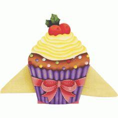 Porta Guardanapo Cupcake