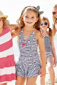 All Over Print Swimdress (3-16yrs)