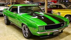 I absolutely am keen on this color selection for this chevy camaro Omg! I absolutely am keen on this color selection for this chevy camaro Chevrolet Camaro, 1969 Chevy Camaro, Camaro Rs, Green Camaro, Camaro 2018, Ford Mustang, Design Retro, Pontiac, Chevy Muscle Cars