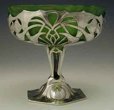 'Osiris' tazza designed by Friedrich Adler and manufactured by Walter Scherf, Germany c. 1905.