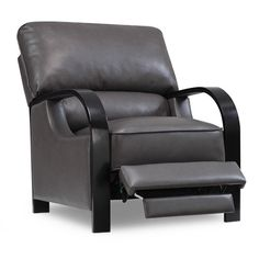 Calie Push Back Dark Grey Bonded Leather Chair - Overstock Shopping - Big Discounts on Emerald Home Furnishings Recliners  sc 1 st  Pinterest : emerald home furnishings chaise lounge - Sectionals, Sofas & Couches