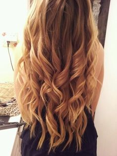 hair styles for long hair hair colors for long hair Curly Hair Styles, Ombré Hair, Blonde Hair, Wavy Hair, Blonde Pink, Goth Hair, Blonde Streaks, Golden Blonde, Brown Blonde