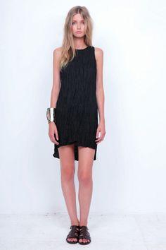 e782d1fe64d1d high neckline, little black dress / bodkin Stylish Dress Book, Spring  Summer, Summer