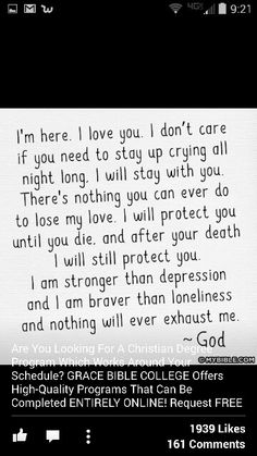 God.  Always there