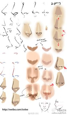 How to drawing a Nose  #Nose | #Drawing | #Tutorials | #Manga