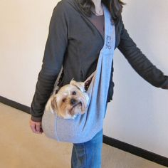 Alfie Pet by Petoga Couture - Chico Reversible Pet Sling Carrier - Color: Grey - http://www.thepuppy.org/alfie-pet-by-petoga-couture-chico-reversible-pet-sling-carrier-color-grey/