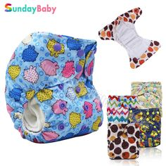 Baby cloth diaper with pocket and double leg gusset baby diaper cloth nappy washable cloth diapers baby