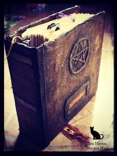 Here's one way to create a Book of Shadows--reminds me of my mom and dad actually,,,& a neat idea