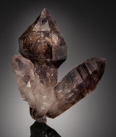 Smoky Amethyst with enhydro -Tafelkopf, Namibia / Mineral Friends <3