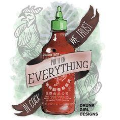 Celebrate Sriracha Week!
