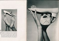 Feet and Shoes by Guy Bourdin. December 1966 - Paris Vogue