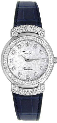 6673/9  ROLEX CELLINI CELLISIMA LADIES WATCH      IN STOCK - Hassle free returns through Jan 31st    Store Display Model  (What's This