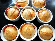 La cajita de recetas: Pasteles de carne