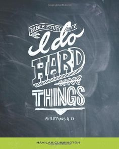 I Do Hard Things: A Bible Study Series: Havilah M Cunnington: 9781481901147: Amazon.com: Books