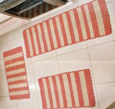 CROCHE COM RECEITA: Passadeita com tapetes em crochê