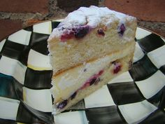 """Mountain Breaths: """"THE"""" CAKE Lemon Berry Mascarpone from Sysco Debbie makes a recipe for it"""