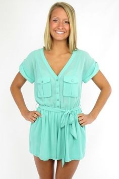 "Sydney Romper escloset.com use coupon code ""kwargo"" for 5% off at checkout!"