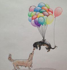 dog tattoo Design Deviantart is part of Foo Dog Tattoo Design By Bjgoodwin On Deviantart - Dachshund Club dachshund Clube Dachshund Drawing, Dachshund Tattoo, Arte Dachshund, Dachshund Love, Foo Dog Tattoo Design, Tattoo Designs, Weenie Dogs, Doggies, Dog Art