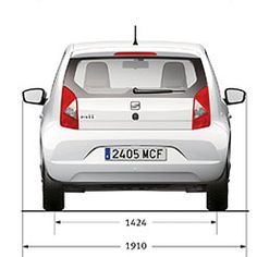 Seat Mii Top Rear City Car Electric Cars Car Seats