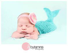 Baby mermaid, Bytamina Photography