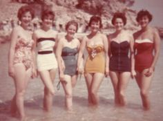 The more I look at vintage clothing/swimwear, I'm inspired to bring it back.