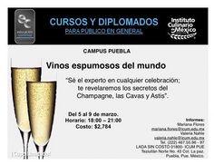 Vinos espumosos del mundo / ICUM / Puebla