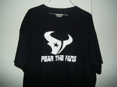 New Custom Screen Houston Texan Fear Fans