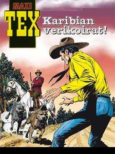 Maxi-Tex: Karibian verikoirat. #tex #willer #egmont #sarjakuva #sarjis