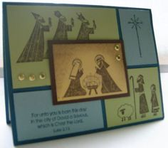 Season of Simple Grace by stampinmomto4 - Cards and Paper Crafts at Splitcoaststampers