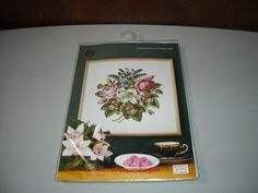 Antique Roses and Strawberries Counted Cross Stitch by BathoryZ