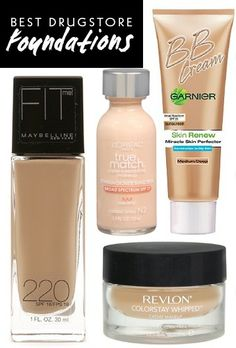 Best Drugstore Foundations: Look Good Without the Hefty Price Tag
