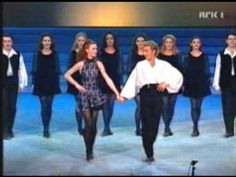 Michael Flatley and Jean Butler from Riverdance