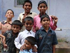Children Posing, Palakkad, Kerala, India