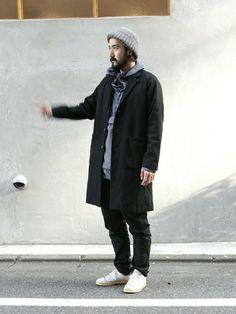 vendor nakameguro   TSUYOSHIさんのダウンジャケット/コート「BASIS BROEK 」を使ったコーディネート