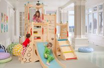Indoor playground, playbed, playhouse, furniture, and toys Rhapsody 10