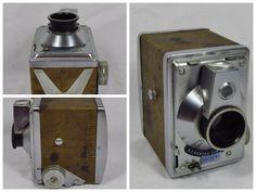 1950s Hunter Gilbert Box Camera Box Camera, Old Cameras, Nespresso, 1950s, Cinema, Movies, Movie Theater