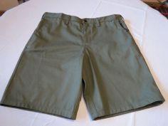 Men's shorts Hurley 34 casual walk skate NEW surf mws0001530 COM Green CZ Chino