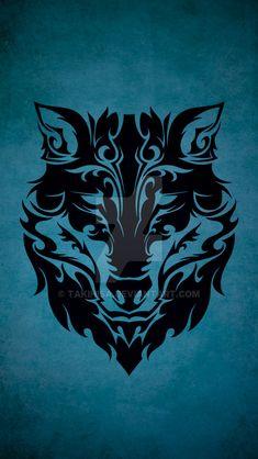 TRIBAL WOLF by Takihisa