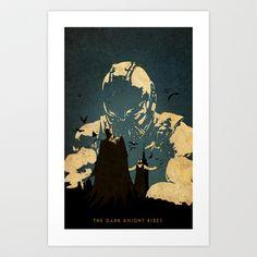 Bane  Art Print by Edmond Lim